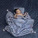 La Millou, By Małgorzata Rozenek - Majdan - Baby Bamboo Pillow - Lady Peony