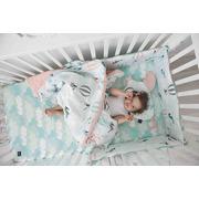 La Millou, By Małgorzata Rozenek - Majdan - Prześcieradło Good Night 70 X 140 cm - Lady White Peony