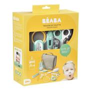 Beaba, Kosmetyczka z 9 akcesoriami do pielęgnacji niemowląt mint
