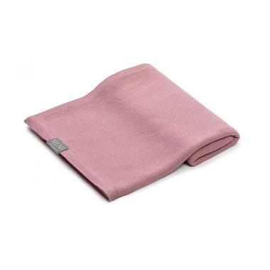 Memi, Bambusowy otulacz / lekki kocyk z jonami srebra 100x100 dirty pink
