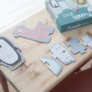 Little Dutch, Puzzle Zoo-6 elementów