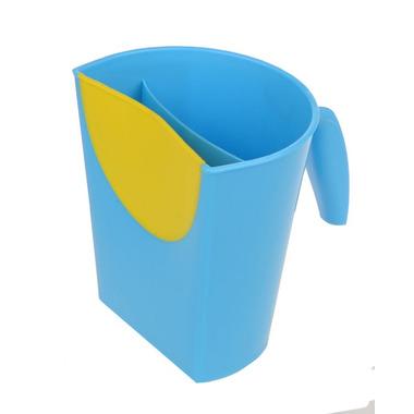 Kubek do mycia głowy niebieski