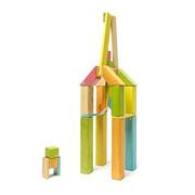 Tegu, Drewniane klocki magnetyczne CLASSICS zestaw 42szt Tints
