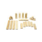 Tegu, Drewniane klocki magnetyczne CLASSICS zestaw 24szt Natural