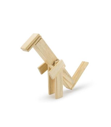 Tegu, Drewniane klocki magnetyczne CLASSICS zestaw 14szt Natural