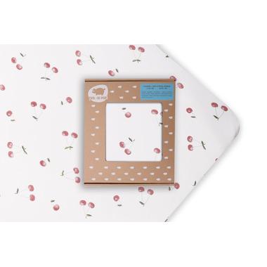 Pink No More, Prześcieradło łóżeczko Wisienki 140x70 cm