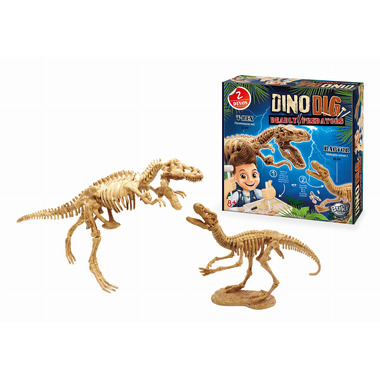 Buki, Mały Archeolog - 2 Szkielety Dinozaurów