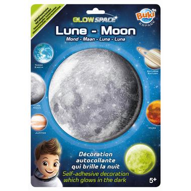 Buki, Planeta Świecąca W Ciemnościach Księżyc