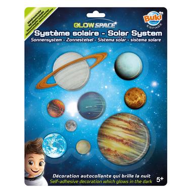 Buki, Układ Słoneczny Świecący W Ciemności