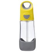 B.Box, Tritanowa butelka ze słomką 450 ml, lemon sherbet