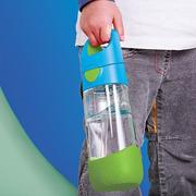 B.Box, Tritanowa butelka ze słomką 450 ml, passion splash