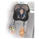 Lusterko do obserwacji dziecka z zaczepami na zabawki