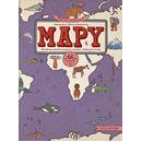 Dwie siostry, mapy obrazkowa podróż po lądach morach i kulturach świata, edycja fioletowa