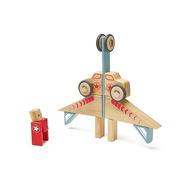 Tegu, Drewniane klocki magnetyczne STUNT TEAM Jumper