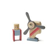 Tegu, Drewniane klocki magnetyczne STUNT TEAM Looper