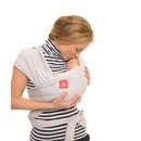 Chusta do noszenia dziecka Babywrap szara