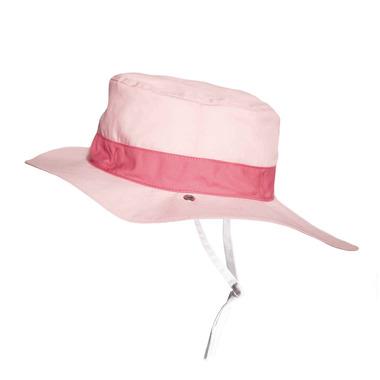 Ki ET LA, Dwustronny Kapelusz UV 50+, Panama Pink, 4-6 lat