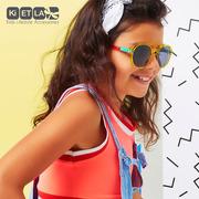 Ki ET LA, Okulary Przeciwsłoneczne CraZyg-Zag SUN PiZZ, Memphis, 6-9 lat