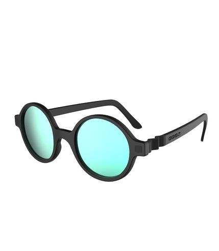 Ki ET LA, Okulary Przeciwsłoneczne CraZyg-Zag SUN RoZZ, Black, 6-9 lat