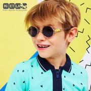 Ki ET LA, Okulary Przeciwsłoneczne CraZyg-Zag SUN RoZZ, ZigZag, 6-9 lat