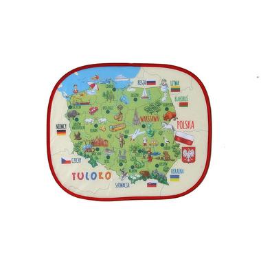 Tuloko, Elektrostatyczna Osłonka Z Mapą