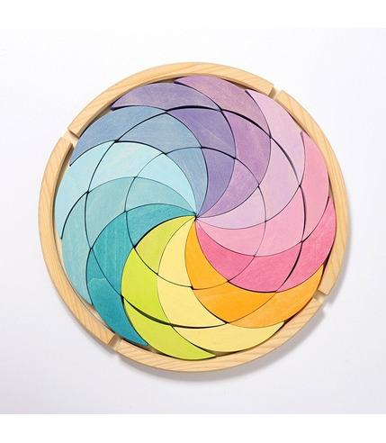 Grimm's, Drewniana układanka Pastelowa Spirala