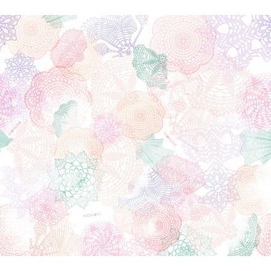Poduszeczka bambusowa - boho róż