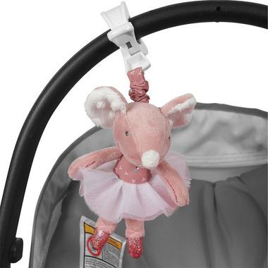 Tiamo Wibrująca zabawka Myszka Baletnica Różowa