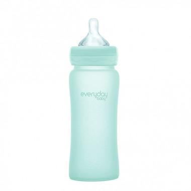 Everyday Baby, Szklana butelka 300ml (miętowa zieleń)