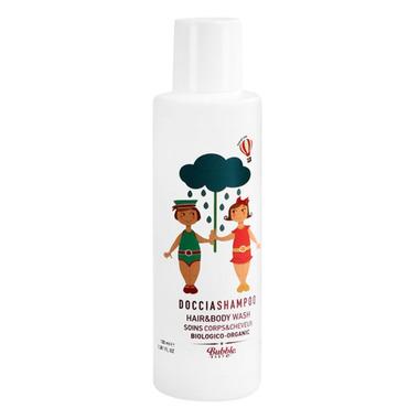 Bubble&CO - Organiczny Płyn do Mycia Ciała i Włosów dla Dzieci, 100 ml, 0m+