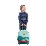 Lilliputiens, plecak szkolny na kółkach Pies Jef