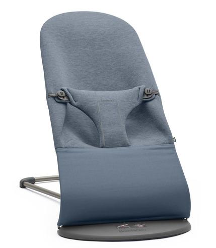 BabyBjorn, leżaczek BLISS 3D Jersey - Niebieski