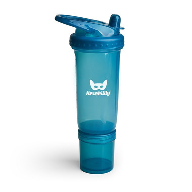 Herobility, bidon HeroSport 300ml - niebieski