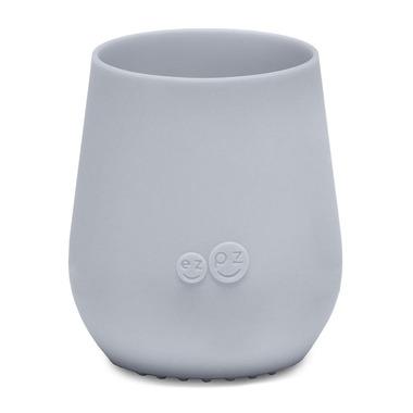 EZPZ, Silikonowy kubeczek Tiny Cup pastelowa szarość