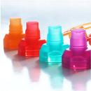 ChooMee, SoftSip 2 PACK Red/Purple Uniwersalny ustnik silikonowy do saszetek pokarmowych