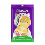 ChooMee, 8 PACK XXL Saszetki do karmienia wielorazowe