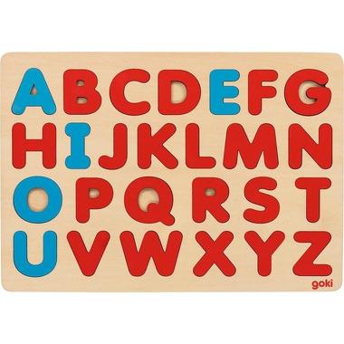 Goki, Drewniana układanka Alfabet styl Montessori