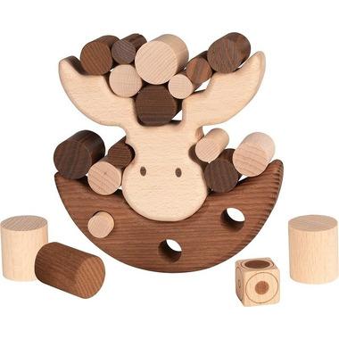 Goki, Gra zręcznościowa z drewna Balansujący łoś