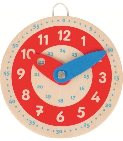 Goki, Drewniany zegar, czerwona tarcza