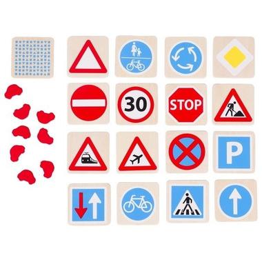 Goki, Memo ze znakami drogowymi