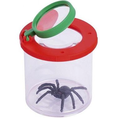 Goki, Pojemnik na pająki z lupą