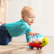 Btoys, Walk 'n' Pop! Świecący żółw-pchacz z kuleczkami – odpinana rączka