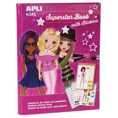 Apli Kids, Książka do projektowania mody - Superstar
