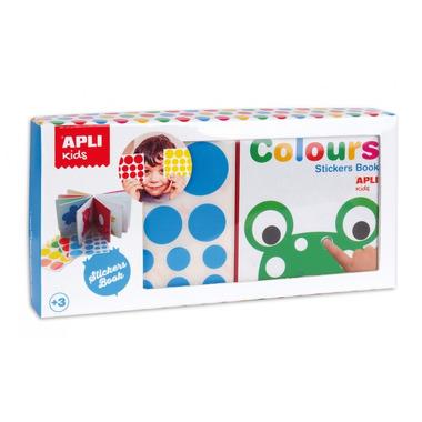 Apli Kids, Moja pierwsza książka z naklejkami - Kolory