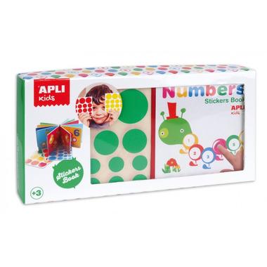 Apli Kids, Moja pierwsza książka z naklejkami - Liczby
