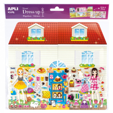 Apli Kids, Naklejki 3D Jumbo - Domek