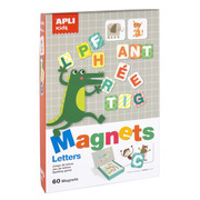 Apli Kids, Magnetyczna układanka - Litery