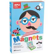 Apli Kids, Magnetyczna układanka - Twarze