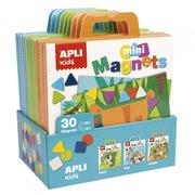 Apli Kids, Mini zestaw z magnesami - Ogród