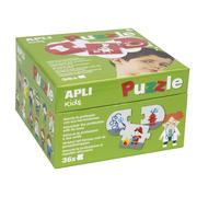 Apli Kids, Puzzle dla dzieci - Zawody 3+